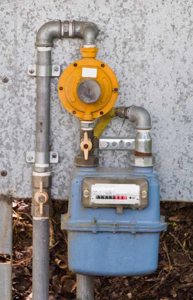 A residential gas shutoff vancouver